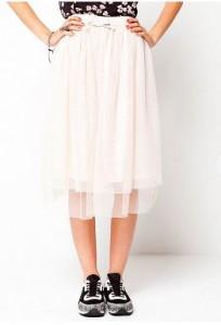 vit underkjol