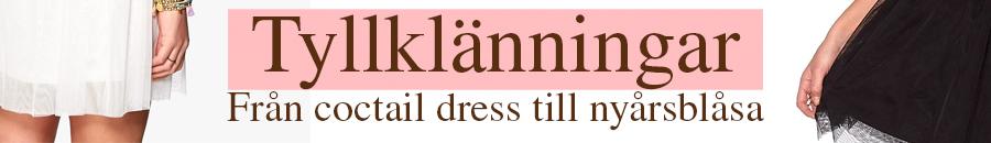 Klänningar i tyll