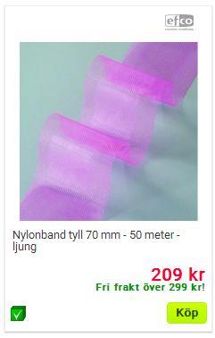 nylonband tyll 70mm